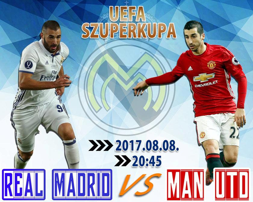Real Madrid – Manchester United (UEFA Szuperkupa)