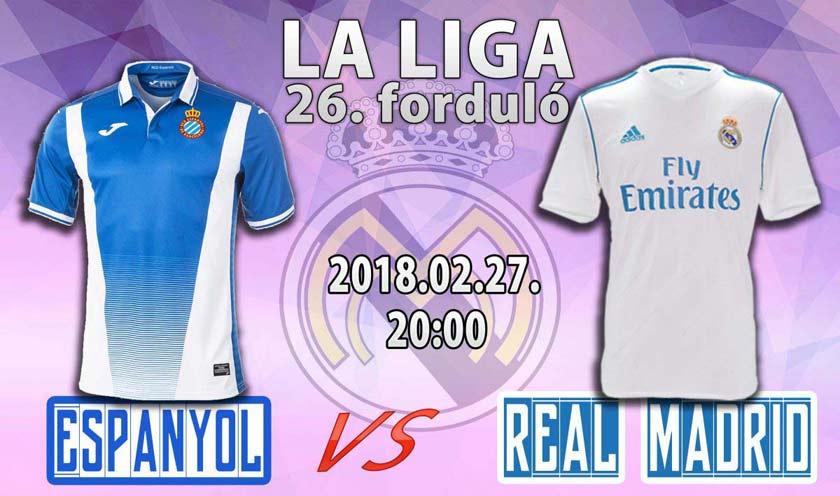 Most akkor újra jók vagyunk? (Espanyol – Real Madrid)