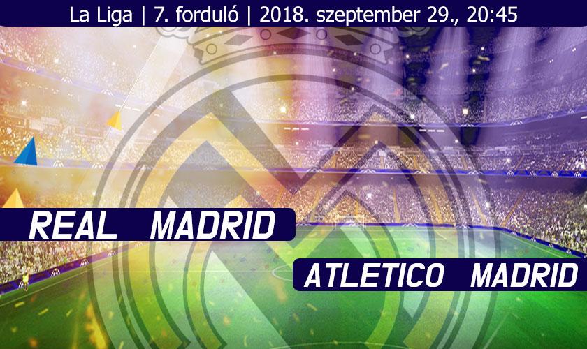 Real – Atletico: Kaotikus előjelek