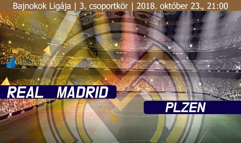 Real Madrid – Plzen: Türelem…
