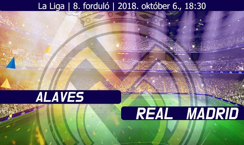 Deportivo Alaves – Real Madrid: Javítani kell!