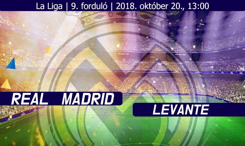Újra itthon – Real Madrid – Levante bajnoki beharangozó