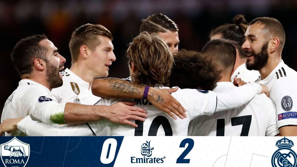 Roma – Real Madrid: a kevésbé gyenge győzött