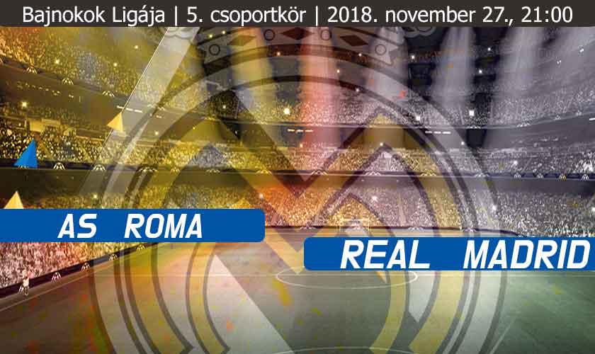 Lesz ez még valaha jobb? – Avagy Roma – Real Madrid
