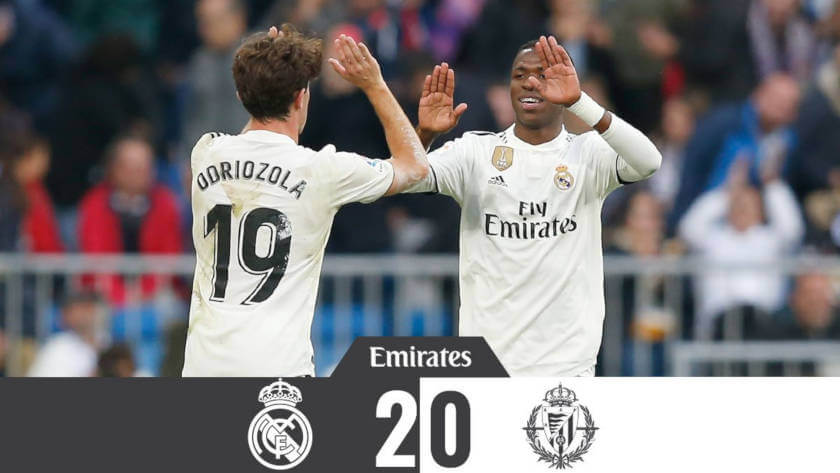 Real Madrid – Real Valladolid: Felkorbácsol a rigmus