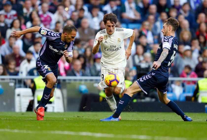 Real Madrid - Real Valladolid Odriozola