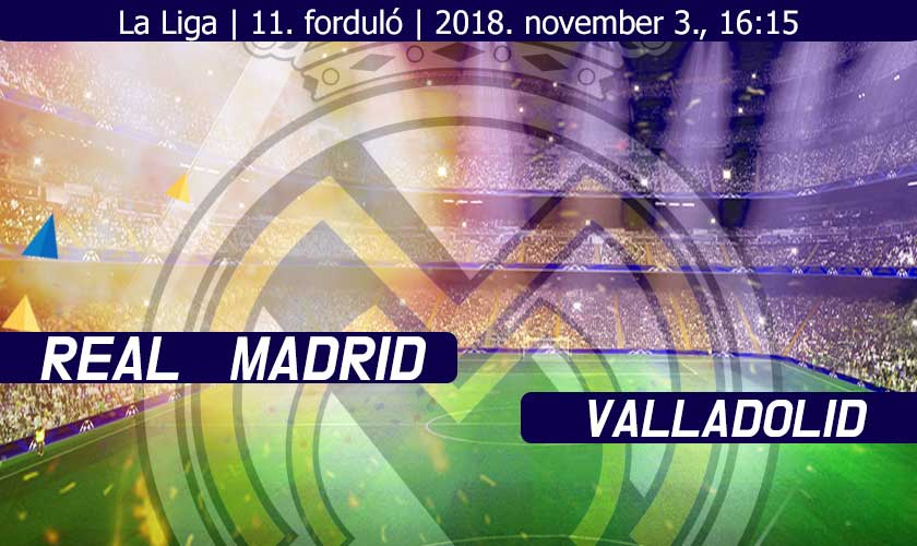 Real Madrid – Valladolid: Raccsol a ritmus