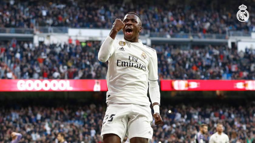 Real Madrid - Real Valladolid Vinicius