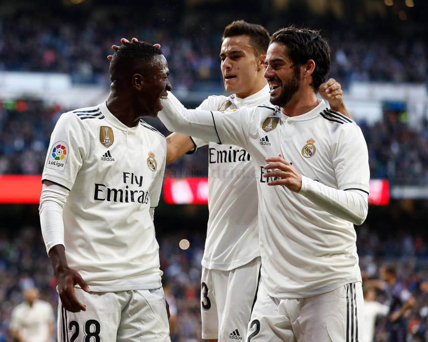Real Madrid - Real Valladolid VIR