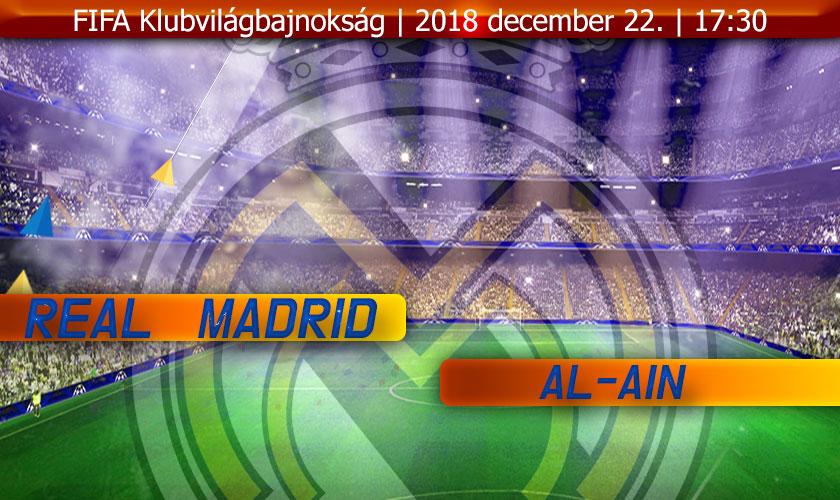 Real Madrid - Al-Ain nyitókép