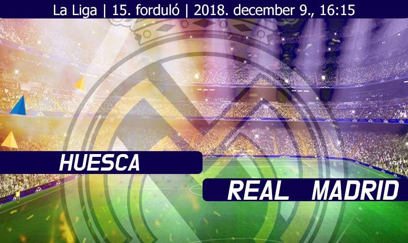 Huesca – Real Madrid: új ellenfél