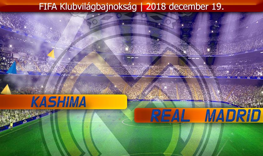 Könnyebb legyen, mint legutóbb… (Kashima-Real Madrid)