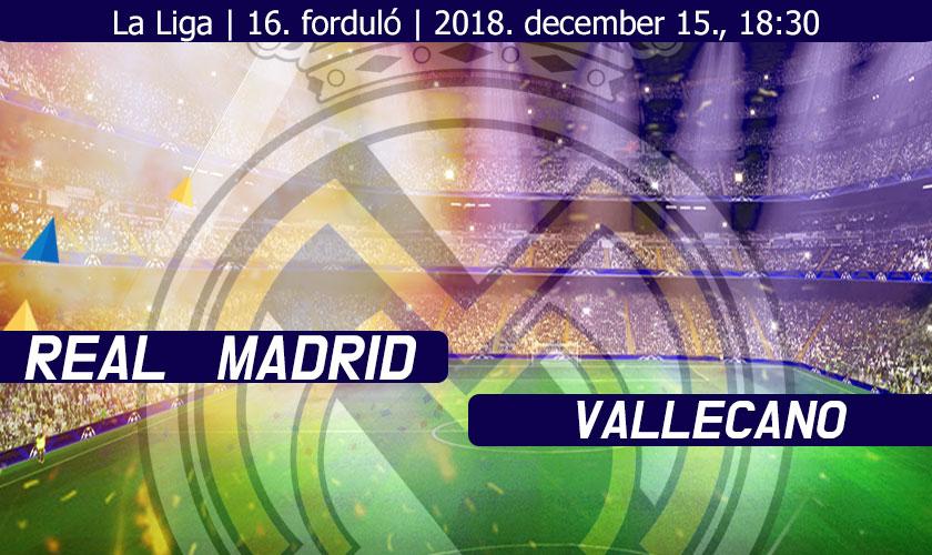 Csak jobb lehet? (Real Madrid – Rayo Vallecano)