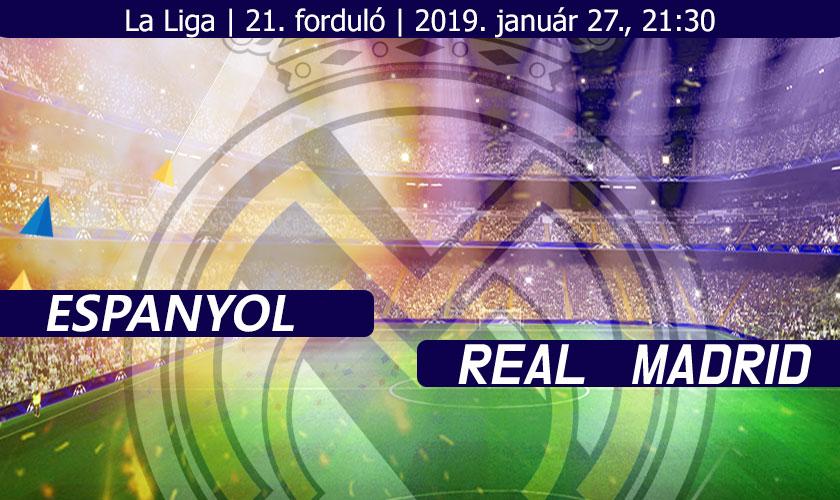 Frédi és Béni beharangoznak (Espanyol – Real Madrid)