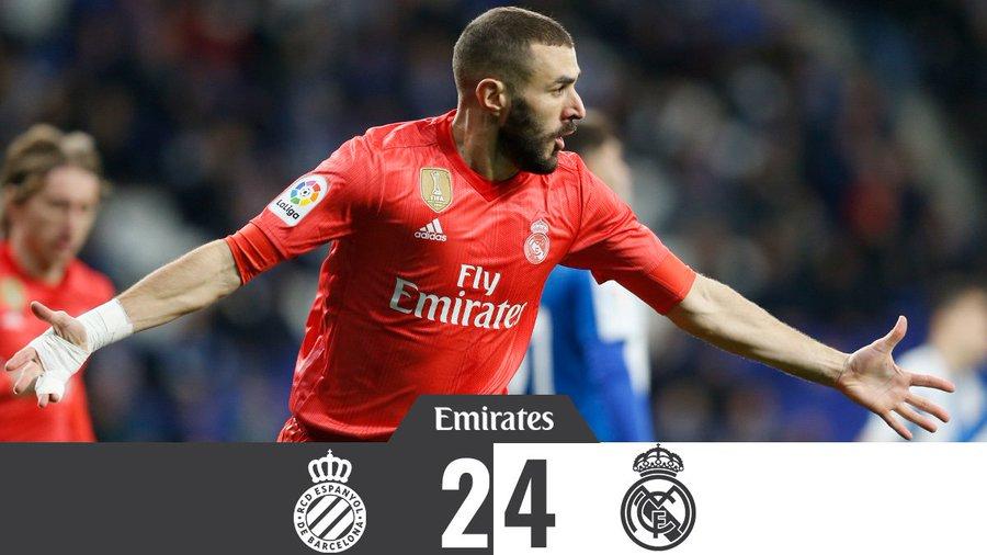 Jobbak voltunk, mint a bíró (Espanyol – Real Madrid összefoglaló)