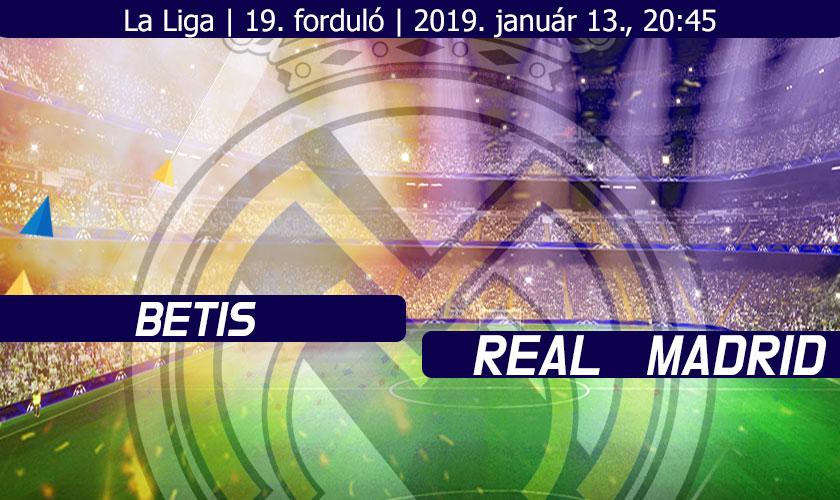 Téli hadjárat, sokadik rész (Betis – Real Madrid beharangozó)
