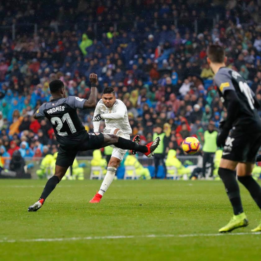 Real Madrid - Sevilla összefoglaló Casemiro gól