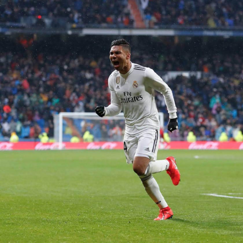 Real Madrid - Sevilla összefoglaló Casemiro öröm