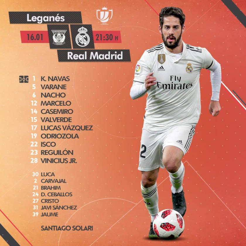 Leganes - Real Madrid összefoglaló kezdő