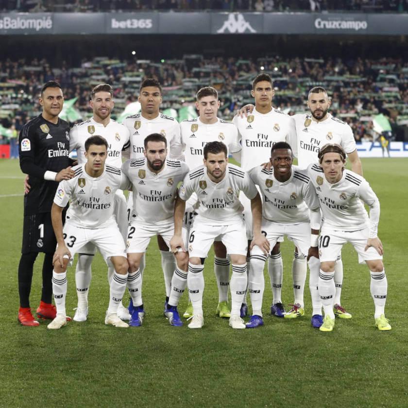 Betis - Real Madrid összefoglaló lineup