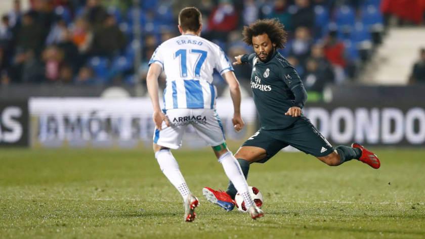 Leganes - Real Madrid összefoglaló Marcelo