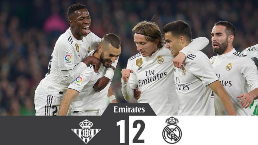 Szebbaljós Árnyak (Betis – Real Madrid összefoglaló)