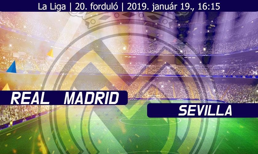 Real Madrid - Sevilla beharangozó nyitókép