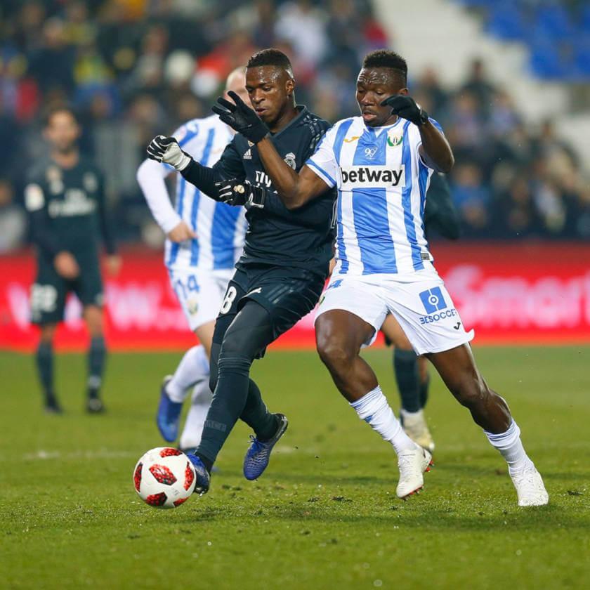 Leganes - Real Madrid összefoglaló Vinicius