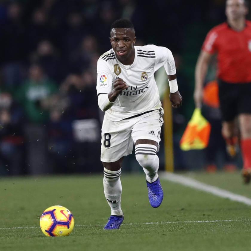 Betis - Real Madrid összefoglaló Vinicius