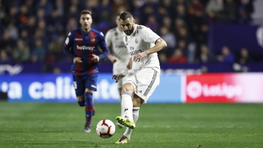 Levante - Real Madrid összefoglaló Benzema