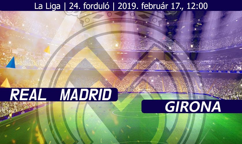 Ideje cserélni (Real Madrid – Girona)