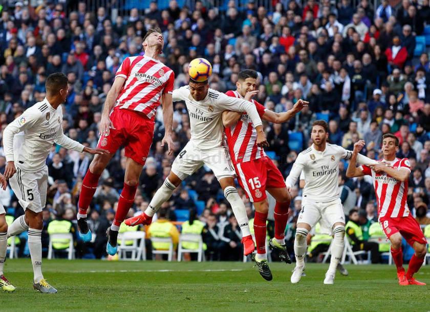 Real Madrid - Girona összefoglaló gól