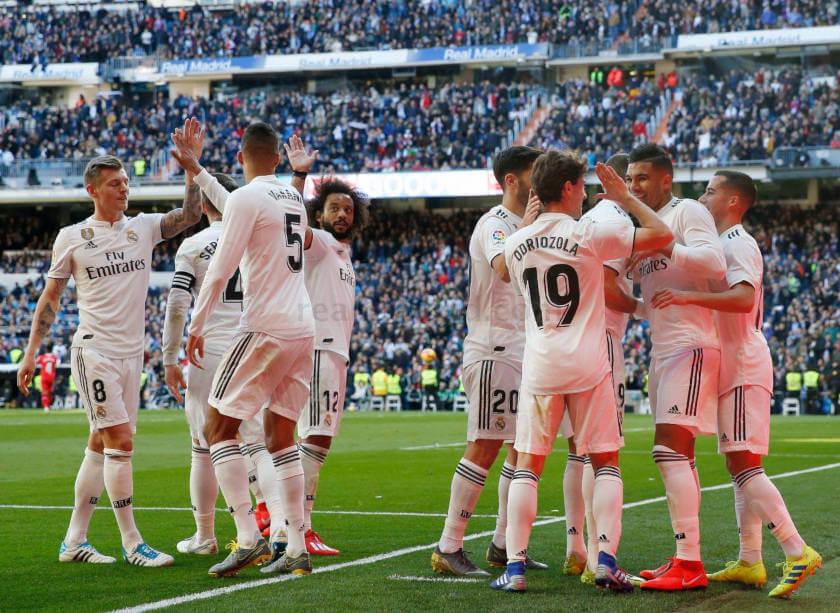 Real Madrid - Girona összefoglaló öröm