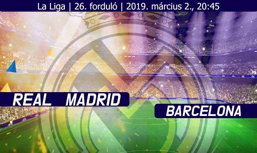 Jönni fog az extra? – Real Madrid vs Barcelona
