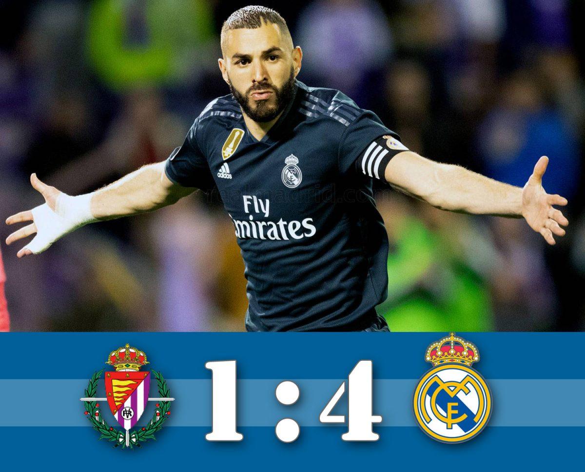 A csapat még Solarival van  (Valladolid – Real Madrid összefoglaló)