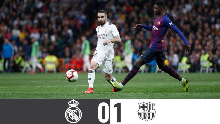 Kettőből nulla (Real Madrid – Barcelona összefoglaló)
