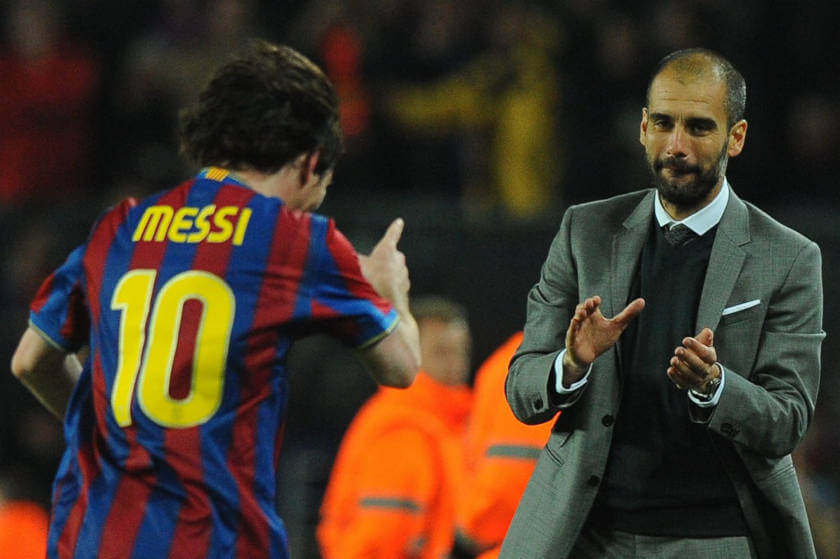 Pep és Messi