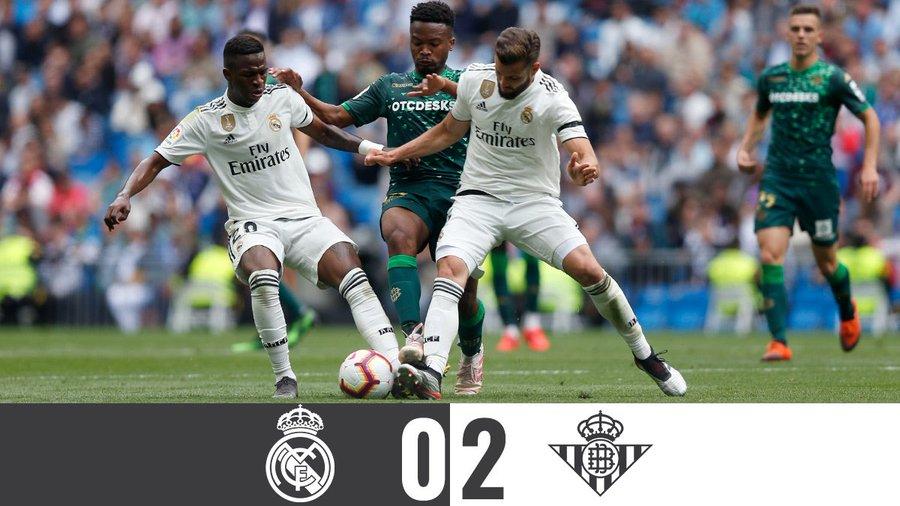 Vége van a tavasznak… (Real Madrid – Real Betis összefoglaló)