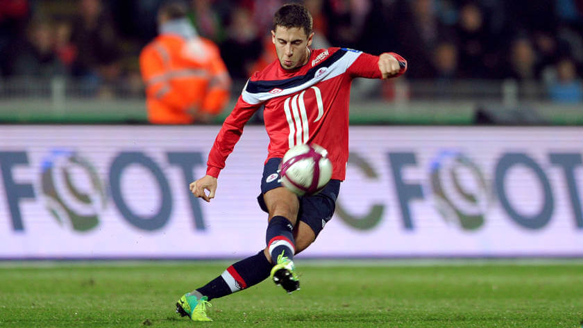 Hazard Real Madrid Lille