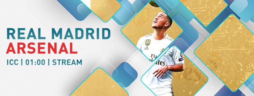 ICC Real Madrid-Arsenal
