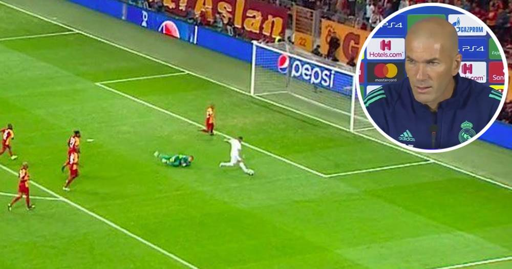 Galatasaray - Real Madrid Hazard kapufa
