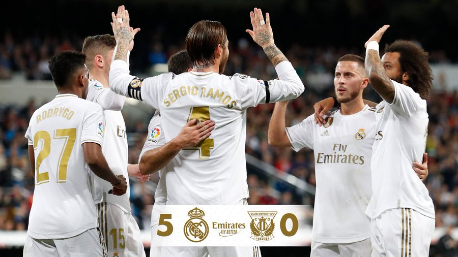 Meglepő gála (Real Madrid – Leganes)