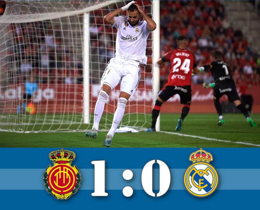 Oda a veretlenség! (Mallorca – Real Madrid összefoglaló)