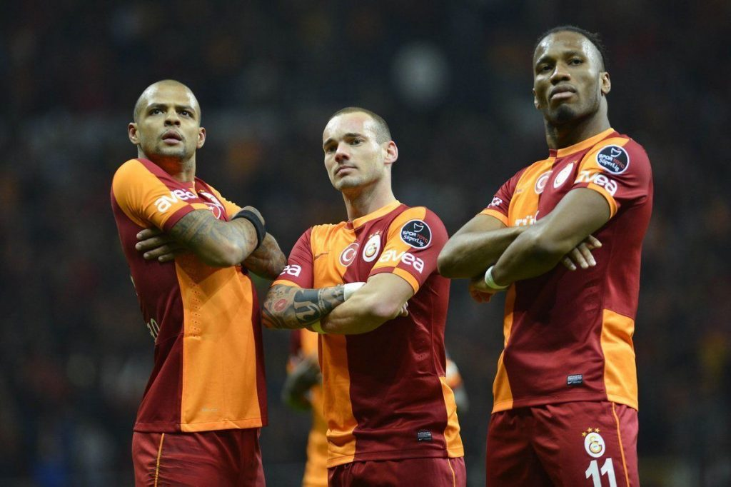 Galatasaray - Real Madrid stars