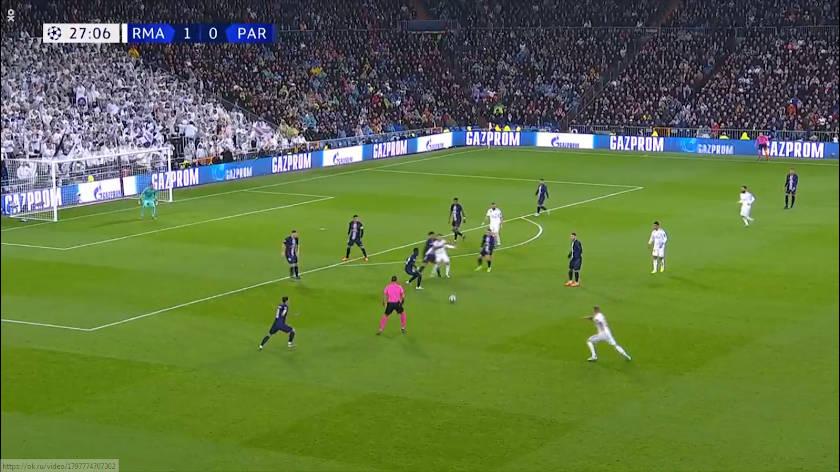 Real Madrid - PSG betömörülés