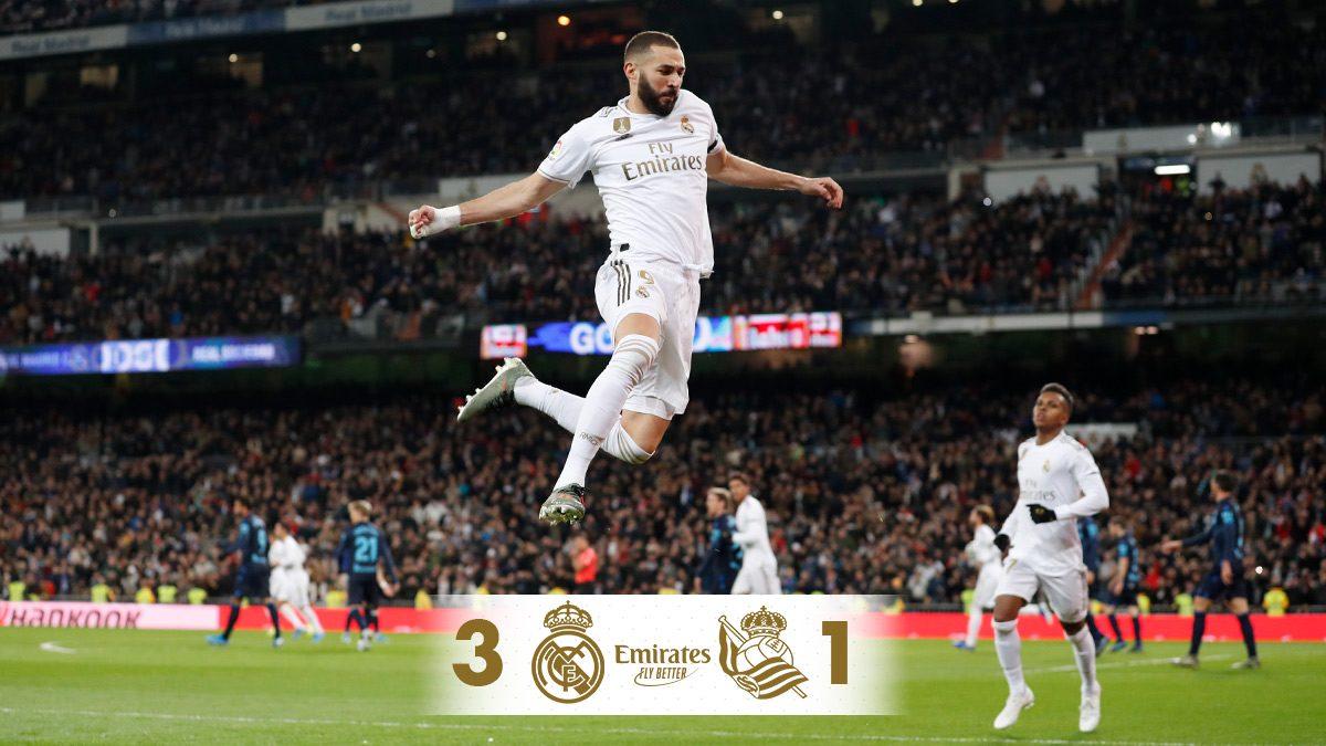 Ott folytatjuk, ahol abbahagytuk: Real Madrid – Real Sociedad összefoglaló