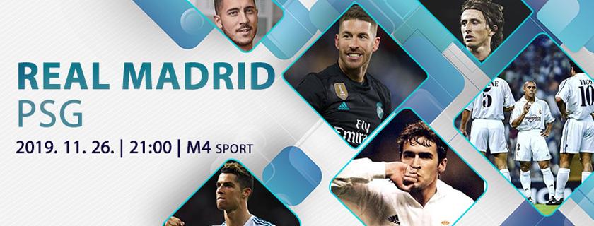 A PSG ezzel a Real Madriddal még nem játszott