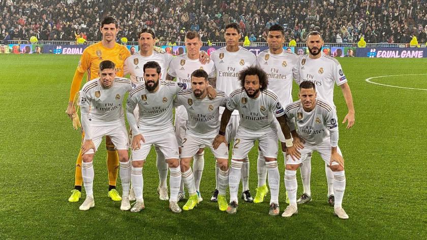 Real Madrid - PSG kezdő
