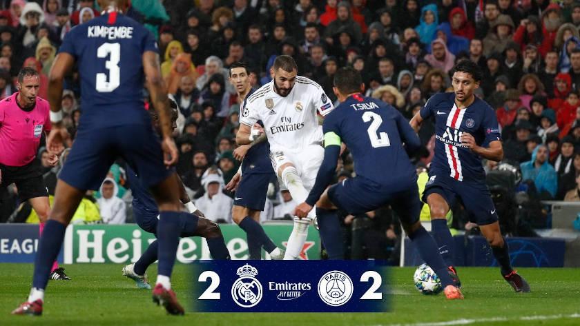 Real Madrid - PSG nyitókép