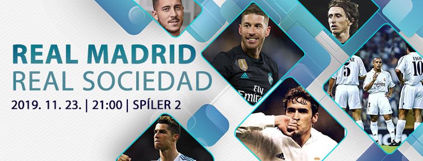 Real vendégjáték Madridban – Real Madrid-Real Sociedad beharangozó